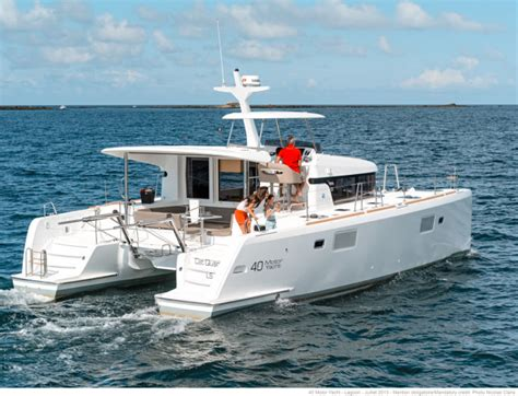 Catamaran 40ft Engine by Catamarans For Sale New Build Lagoon 40 My Lagoon