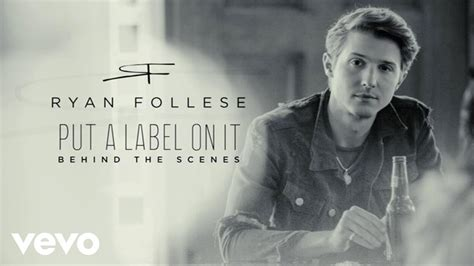 Whatever Floats Your Boat Ryan Follese by Ryan Follese Put A Label On It Behind The Scenes Youtube