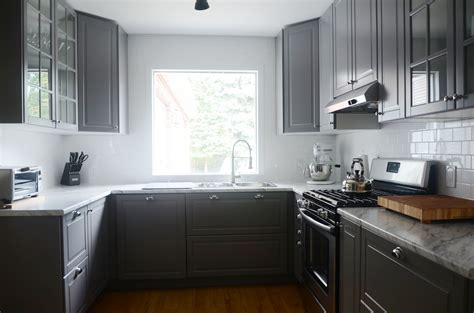 Kitchen : A Modern Ikea Kitchen Renovation In Less Than A Month