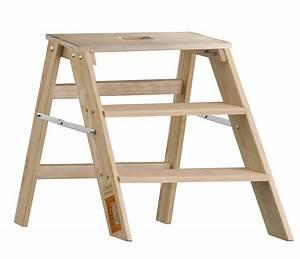 Leiter 3 Stufen : layher 1055 klappbarer holzstufentritt 3 stufen tritt klpptritt trittleiter holz ebay ~ Markanthonyermac.com Haus und Dekorationen