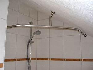 Eck Duschwand Für Badewanne : duschstange l form f r dusche badewanne oder barrierefreier duschbereich f r behinderten ~ Markanthonyermac.com Haus und Dekorationen