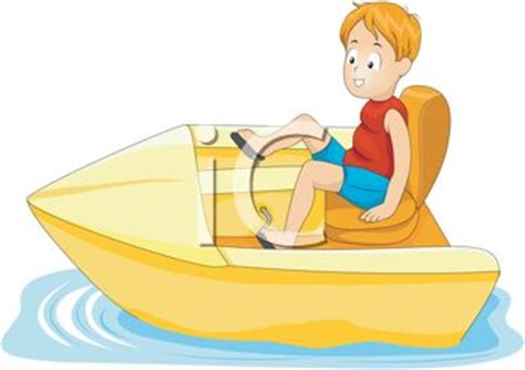 Cartoon Paddle Boat by Cartoon Of A Little Boy In A Paddle Boat Royalty Free