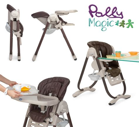 chicco chicco polly magic 3 in 1 high chair 0 months brand new