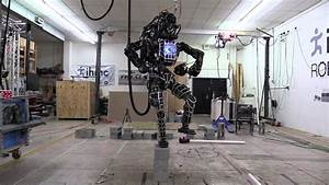 Humanoid Atlas Robot by Boston Dynamics Performs the Crane ...