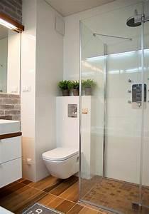 Kleines Bad Dusche : kleines bad einrichten 51 ideen f r gestaltung mit dusche ~ Markanthonyermac.com Haus und Dekorationen
