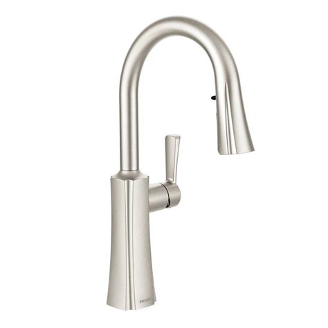 Moen Arbor Kitchen Faucet Stainless by Moen Arbor Single Handle Pull Sprayer Touchless