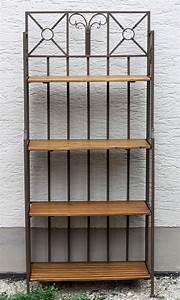 Wandregal Aus Metall : wandregal aus metall holz regal im landhausstil ~ Markanthonyermac.com Haus und Dekorationen