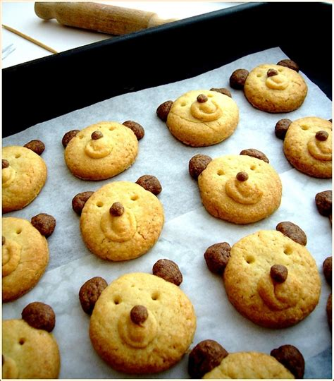 biscuits oursons la p 226 tisserie d iza
