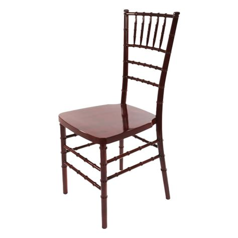 bellaire mahogany chiavari chair stackable chairs