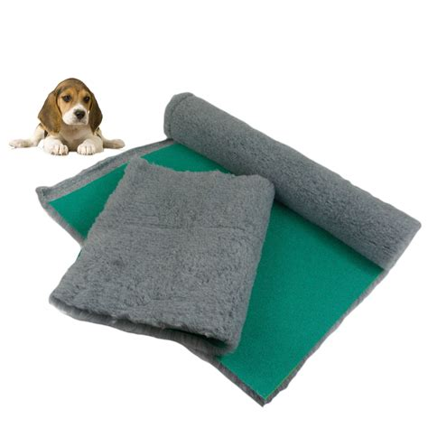 traditional grey vet bedding roll whelping fleece puppy pro bed interbuys