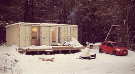comment faire une maison autonome avec 3 containers construire tendance