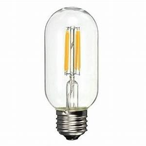 Werden Led Lampen Warm : e27 led filament buislamp 4w dimbaar t45 led buislamp ~ Markanthonyermac.com Haus und Dekorationen
