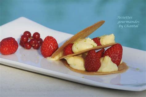 millefeuille de fraises mousse au mascarpone