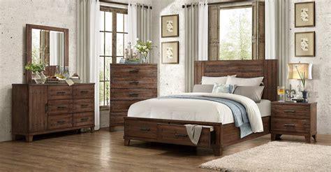 Homelegance Brazoria Bedroom Set-distressed Natural Wood