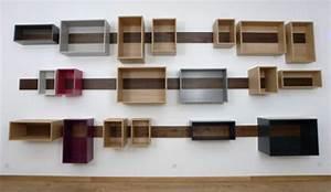 Küche Farbe Wand : attraktive k che design mit wand regal holz k che und wei wand farbe farbe k che interieur ~ Markanthonyermac.com Haus und Dekorationen