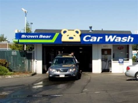 "Brown Bear ""free Car Wash Day,"" Aug 22  Gig Harbor, Wa Patch"