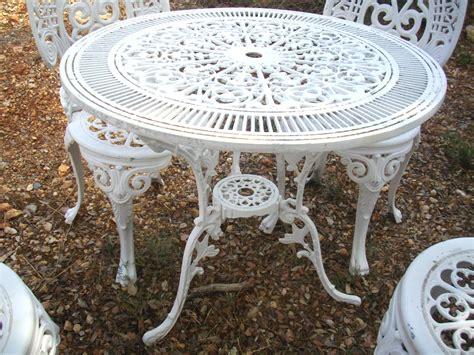 salon de jardin rocaille blanc immitation fonte no fer forg 233 showroom didoulabrocante