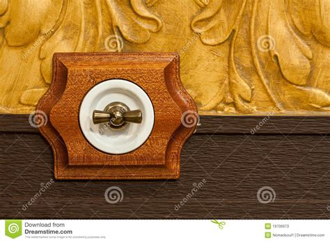 Antique Wooden Light Switch Stock Image Antique Style Jewellery Uk Era Rar Mirrored Nightstand West Elm Old World Bar Globe Oak Chest Of Drawers Australia With Marble Top Antiques New Berlin Wi Living Room Table