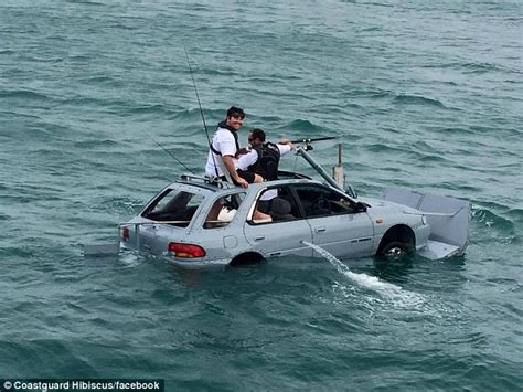 Homemade Fishing Boat by Crazy Auckland Boat Race Sees A Floating Suburu Take To