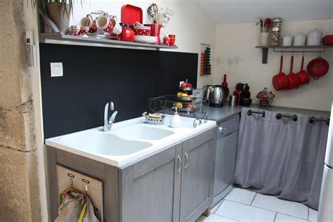 un tableau noir dans ma cuisine
