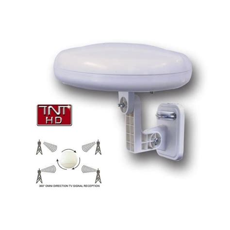 antenne omnidirectionnelle tnt hd ronde 360 176 achat vente antenne rateau antenne