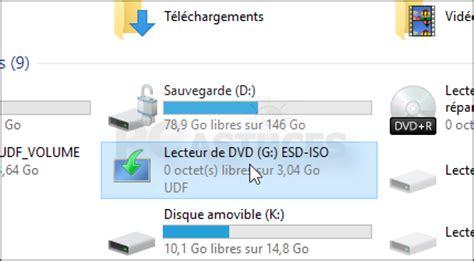 pc astuces monter un fichier iso windows 10
