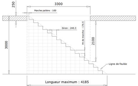 www le metal net calculer un escalier droit