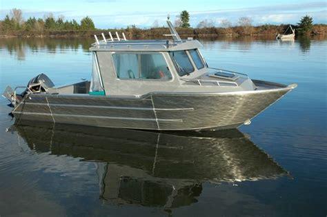 Aluminium Boot Cabin by Aluminum Boat Wolf West Coast Cruiser Wanderlust