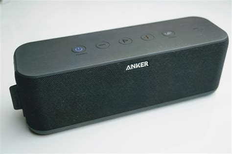 Anker Bluetooth Speaker by Anker Soundcore Boost Bluetooth Speaker Hands Down The