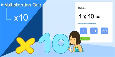 jeu 233 ducatif table de 10 quiz multiplication exercice en ligne