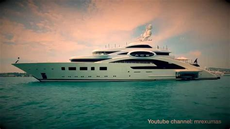 Yacht Youtube by Superyacht Quot Ace Quot Lurssen Yachts Youtube