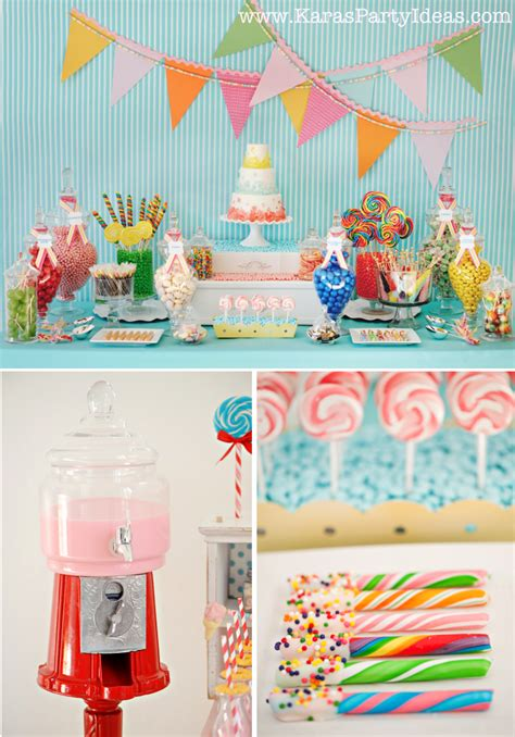 Kara's Party Ideas Sweet Shoppe Candy Party  Kara's Party