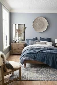 Grau Blau Farbe : trendige farben fabelhafte schlafzimmergestaltung in grau blau ~ Markanthonyermac.com Haus und Dekorationen