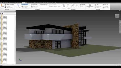 Autodesk Inventor Modern House Build  Doovi