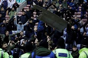 Madness and troubles after Wigan Athletic - Manchester ...