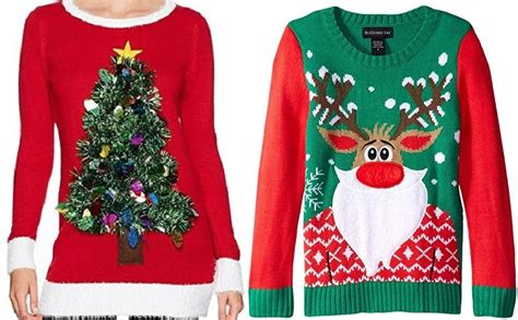 Ugly Christmas Sweaters 50% Off On Amazon