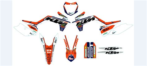 kit deco 2d racing team ktm meo crossmoto 50 sx 2002 2016 crossmoto fr 08 09 2017