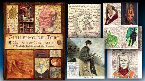guillermo toro cabinet of curiosities hardcover book