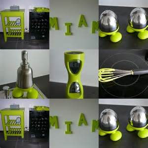 objets d 233 co vert objet deco cuisine vert anis urne de mariage blanche et vert anis