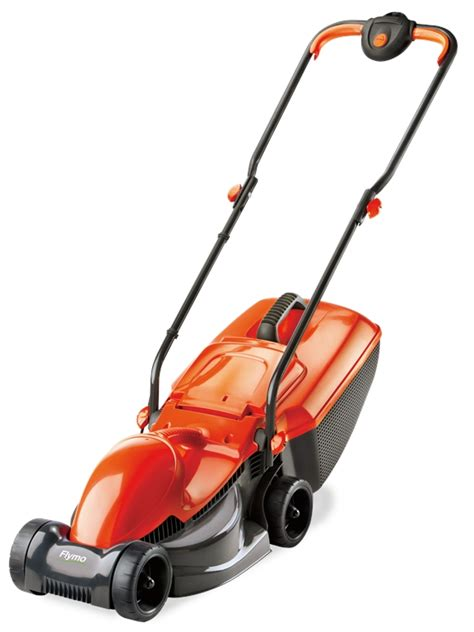 flymo rollermo wheeled rear roller electric lawn mower