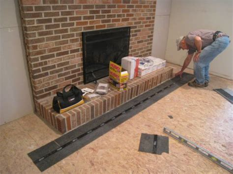 how to level a plywood or osb subfloor using asphalt shingles construction felt one project