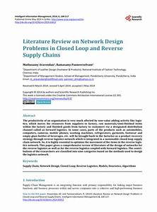 (PDF) Literature Review on Network Design Problems in ...