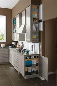 Küche Auf Vinylboden Stellen : 39 stauraum ideen f r die moderne k che ~ Markanthonyermac.com Haus und Dekorationen