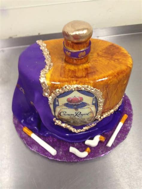 crown royal cake crown royal bachelor cake including edible