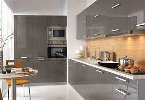 Ikea Griffe Küche : gro e einbauk che k che 420cm mit hochschr nken modern grau hochglanz lackiert ebay ~ Markanthonyermac.com Haus und Dekorationen