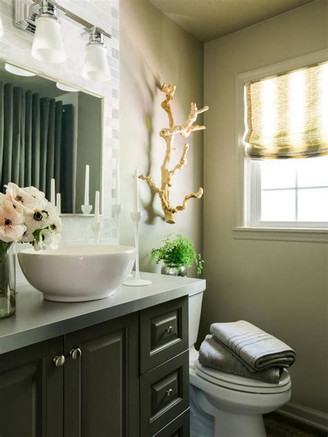 Freshen Up Your Powder Room For Holiday Guests  Hgtv. Lucite Console Table. Conde Construction. Carpet Bugleweed. Wood Window Valance. Table Behind Couch. Home Decorator. Bird Area Rug. J&k Cabinetry