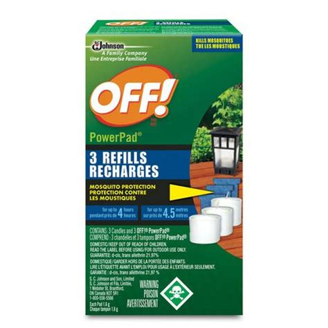 174 powerpad mosquito l refills lawn garden walmart ca