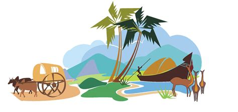 Kerala Boat House Vector by Boat House Clipart Kerala Tourism
