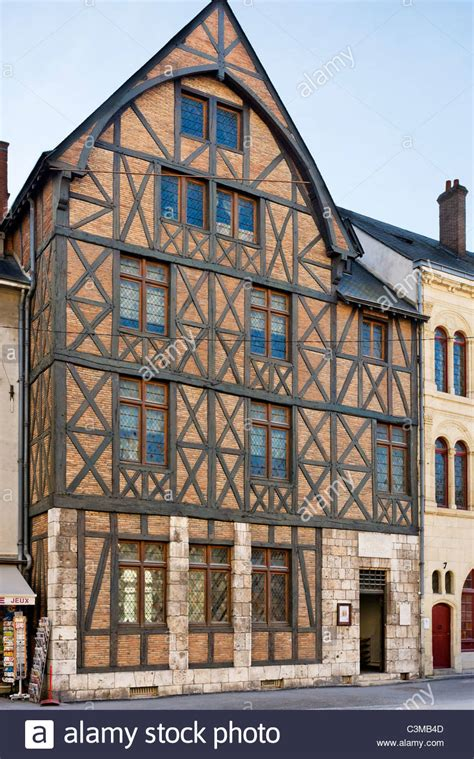 la maison jeanne d arc joan of arc s house in the city centre stock photo royalty free image