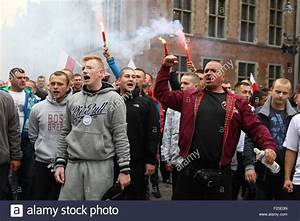 GDANSK, POLAND - SEPTEMBER 12: Members of far-right ...